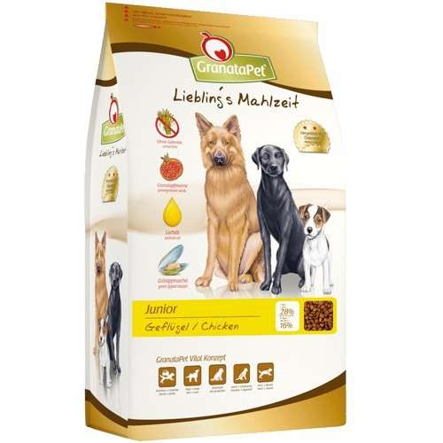GranataPet Liebling's meal dry food Junior 4 kg, 10 kg buy online
