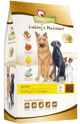 GranataPet Liebling's meal dry food Junior EAN: 4260165184373 reviews