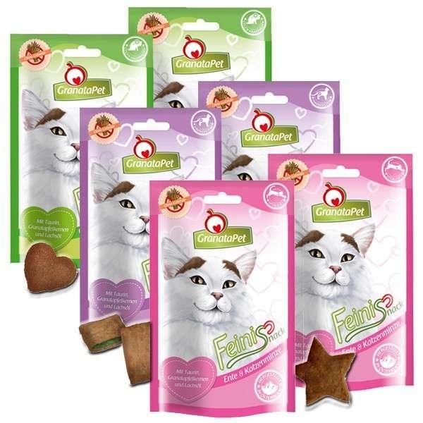 GranataPet FeiniSnack Kat Snack Multipack 6x50 g