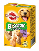 Pedigree Snacks Biscuits Biscrok 3 Saveurs 500 g