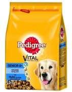 Croquettes pour chien   Pedigree: Senior 8+ Poulet & Riz Grande Qualité à des prix très bas!