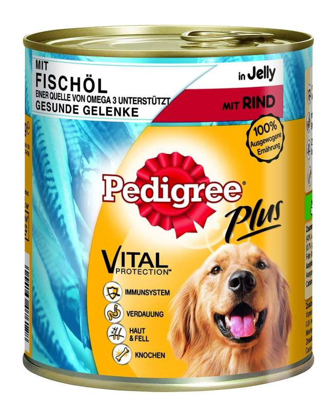 Pedigree Adult Plus Visolie-Rund 800 g 5000166076128