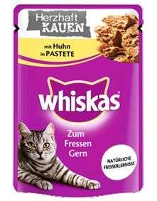 Whiskas Me encanta Comer -  Muerde y Disfruta con Pollo 28x85 g