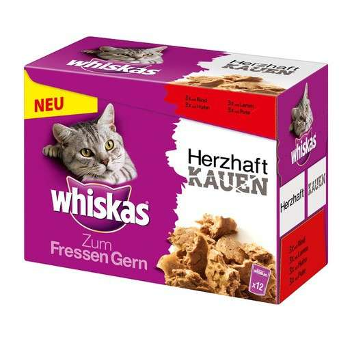 Soft Cat Food >> Whiskas Gourmet S Delight Soft And Meaty With Meat Selection Multipack 12x85 G