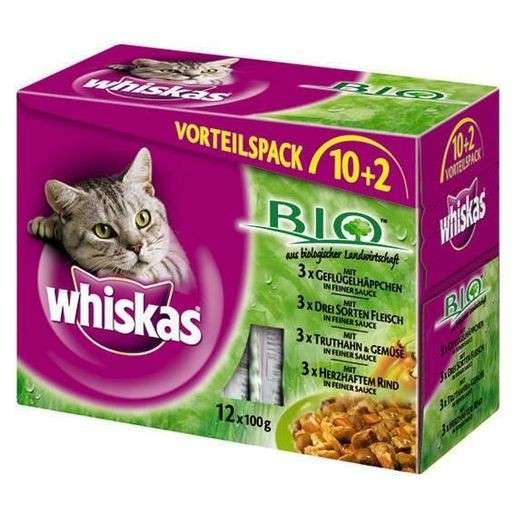 Whiskas Bolsitas Bio 12es Multipack 12x100 g
