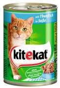 Kitekat Blikvoeding Tonijn in Saus 400 g online bestellen