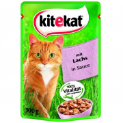 Kitekat Pouches with salmon in sauce 100 g