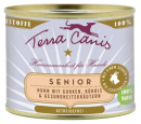 Senior Menu, Chicken with Cucumber, Pumpkin & Herbs 400 g fra Terra Canis