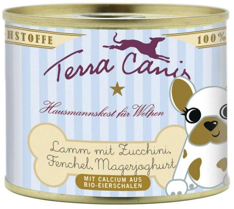 Terra Canis Puppy Menu, Lam met Courgette, Venkel en Magere Yoghurt 400 g