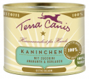 Classic Meals, Rabbit with Courgette, Amaranth & Wild Garlic 200 g fra Terra Canis