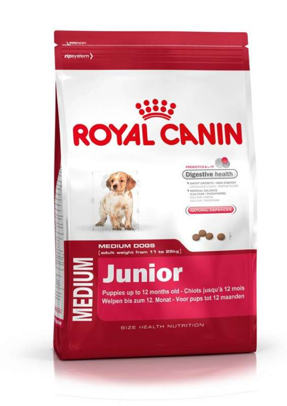 Royal Canin Size Health Nutrition Medium Junior 10 kg 3182550778077