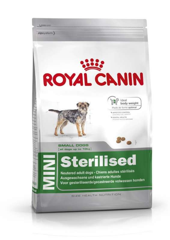 Royal Canin Size Health Nutrition Mini Sterilised 2 kg 3182550807043
