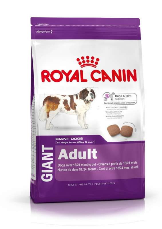 Royal Canin Size Health Nutrition Giant Adult 15 kg, 4 kg köp billiga på nätet