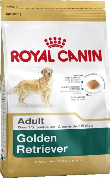 Royal Canin Breed Health Nutrition Golden Retriever Adult 12 kg 3182550743440 erfaringer