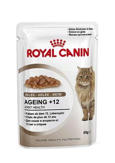 Royal Canin Feline Health Nutrition Ageing +12 in Jelly 85 g osta edullisesti