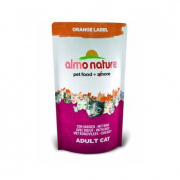 Almo Nature Orange Label Dry with Beef 105 g