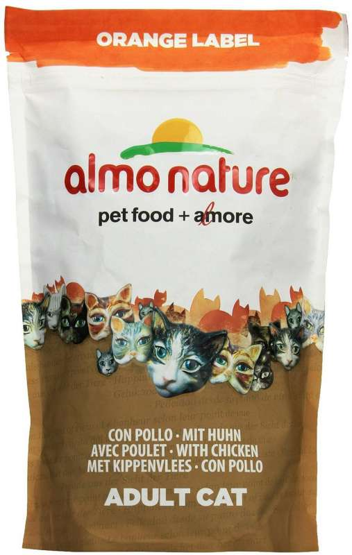 Almo Nature Orange Label Dry with Chicken 105 g, 750 g buy online