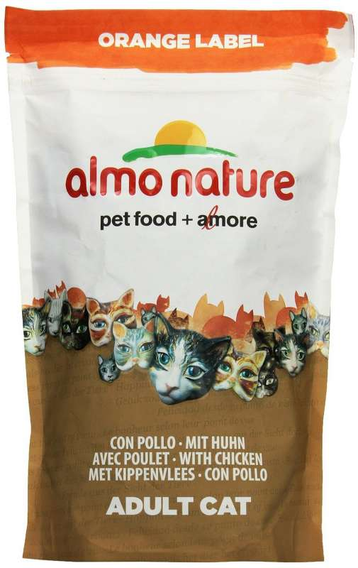 Almo Nature Orange Label Dry with Chicken 750 g order cheap