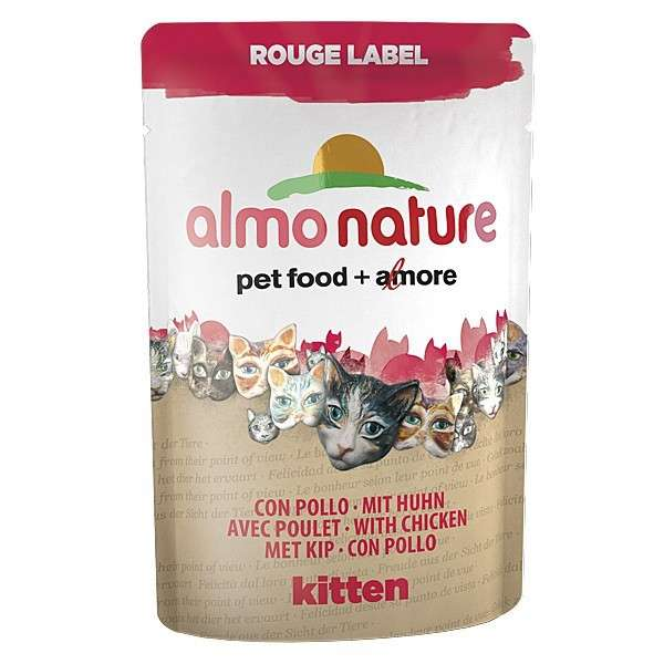 Almo Nature Rouge Label Wet Kitten 55 g