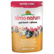 Comida húmeda Almo Nature Rouge Label Filete de Pollo y manzana 55g