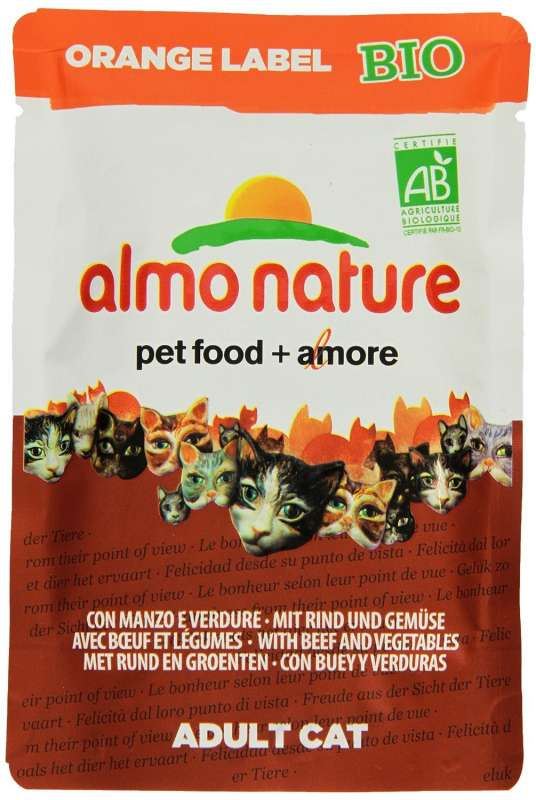 Almo Nature Orange Label BIO Wet with Beef and Vegetables 70 g order cheap