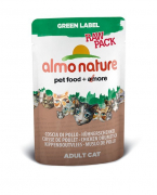 Almo Nature Green Label Raw Pack Muslos de pollo 55 g