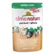 Green Label Raw Pack Wet Filetto di pollo con prosciutto - EAN: 8001154124620