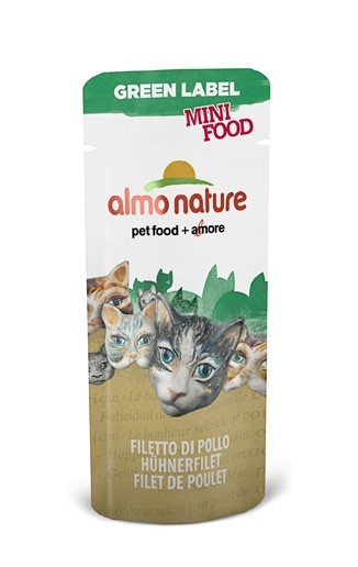 Almo Nature Green Label Mini Food Wet Kippenfilet 3 g