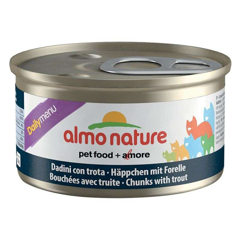 Almo Nature DailyMenu Chunks with Trout EAN: 8001154125009 reviews