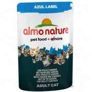 productos para mascotas Almo Nature Azul Label con Pollo y sardina las mejores promociones actuales