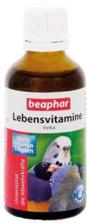 Lebensvitamine (Vinka) von Beaphar 50 ml online günstig kaufen