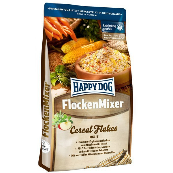 Happy Dog Mélange de flocons 3 kg, 10 kg, 1 kg