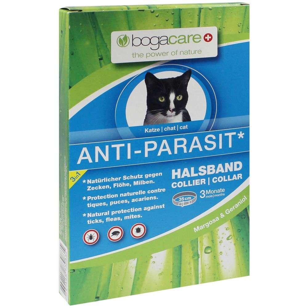 Bogar Collier anti-parasites bogacare pour chats