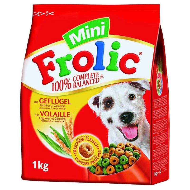Frolic Mini Complete & Balanced with Poultry 1 kg