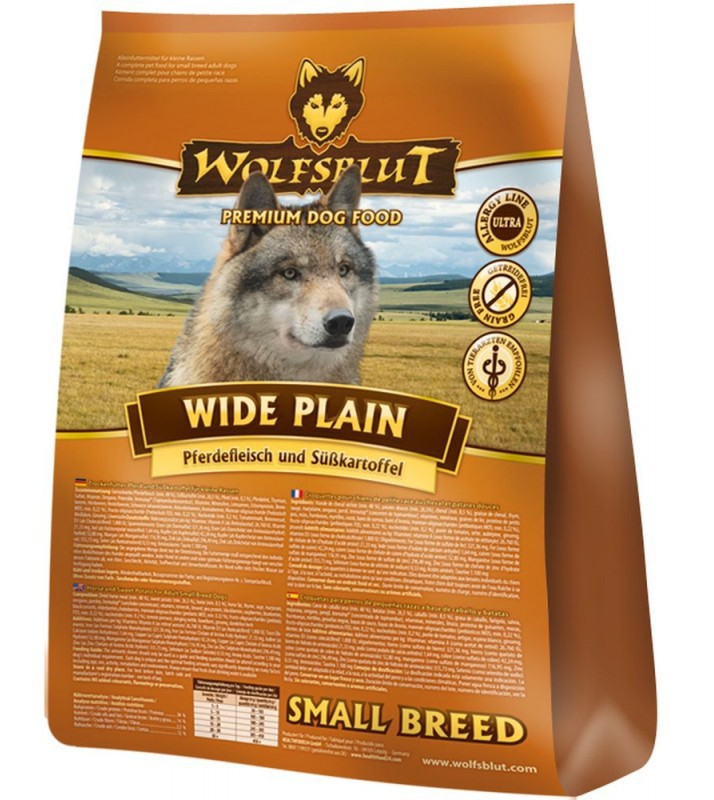 Wolfsblut Wide Plain Small Breed horse meat and sweet potatoes EAN: 4260262764522 reviews