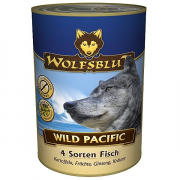 Wolfsblut Wild Pacific 4 kinds of fish, potatoes, fruits, ginseng and herbs 395g