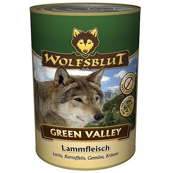 Wolfsblut Natvoer Green Valley Lam, Zalm, Aardappelen, Groenten en Kruiden 395 g 4260262763525