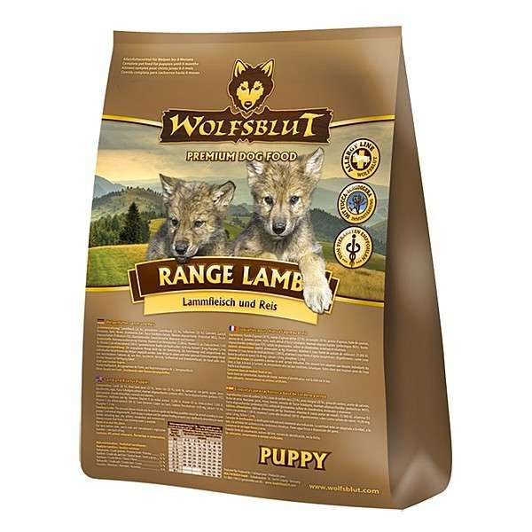 Wolfsblut Range Lamb Puppy 15 kg, 2 kg