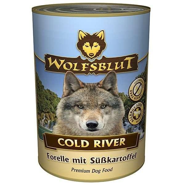 Wolfsblut Cold River Forel met zoete Aardappel 395 g 4260262762573
