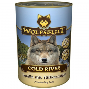 Wolfsblut Cold River wet food Trout with Sweetpotato 395 g