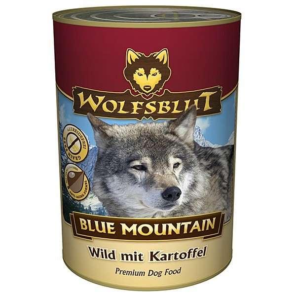Wolfsblut Blue Mountain Natvoer Wild met Aardappel 395 g