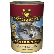 Blue Mountain Wild with Potato 395 g från Wolfsblut