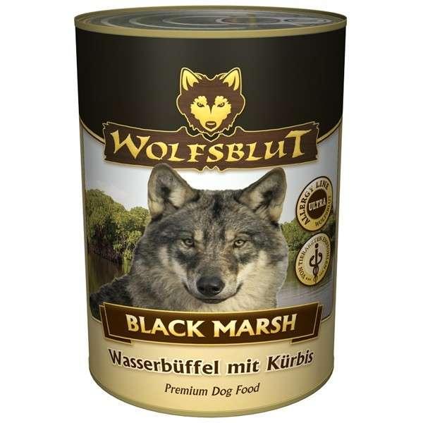 Wolfsblut Natvoer Black Marsh met Waterbuffel vlees en Pompoen 6x1.2 kg, 395 g