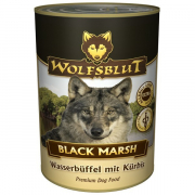 Black March with water buffalo and pumpkin 395 g från Wolfsblut