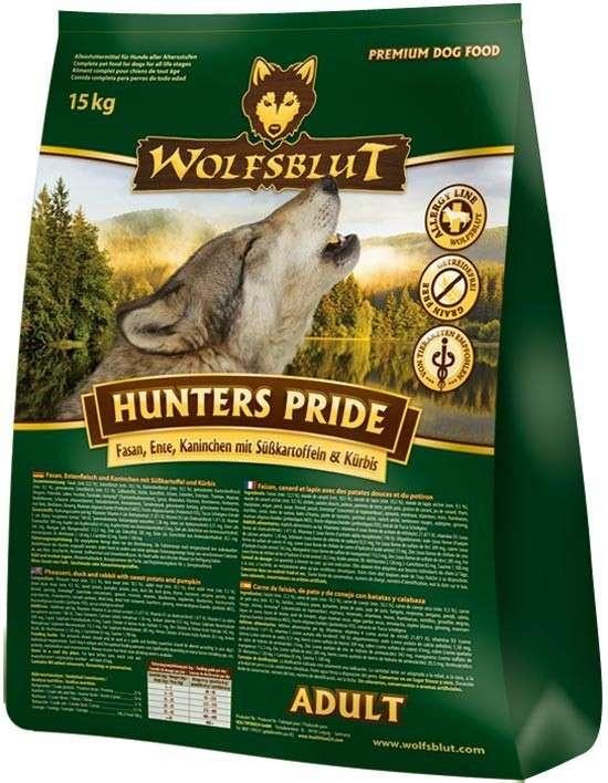 Wolfsblut Hunters Pride Adult 15 kg 4260262761354 ervaringen