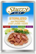 Stuzzy Cat Pouch Sterilised with Turkey - EAN: 8005852245816
