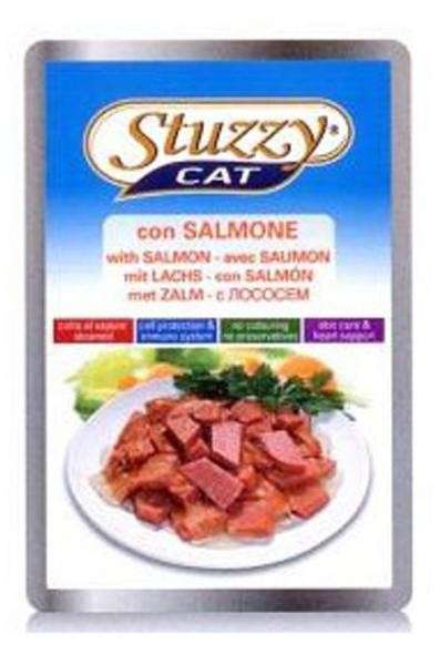 Stuzzy Cat Pouch Salmon 100 g