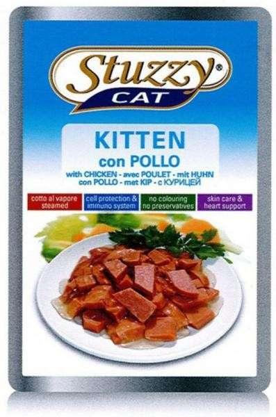 Stuzzy Cat Kitten con Pollo 100 g