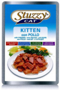 Stuzzy Cat Pouch Kitten with Chicken 100 g