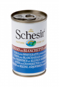 Canned food for cats   Schesir: Tuna & Whitebaits in natulal juices Top Quality extremely low priced!